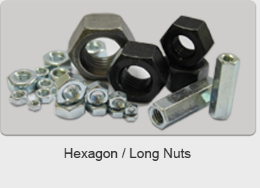 Hexagon Long Nuts